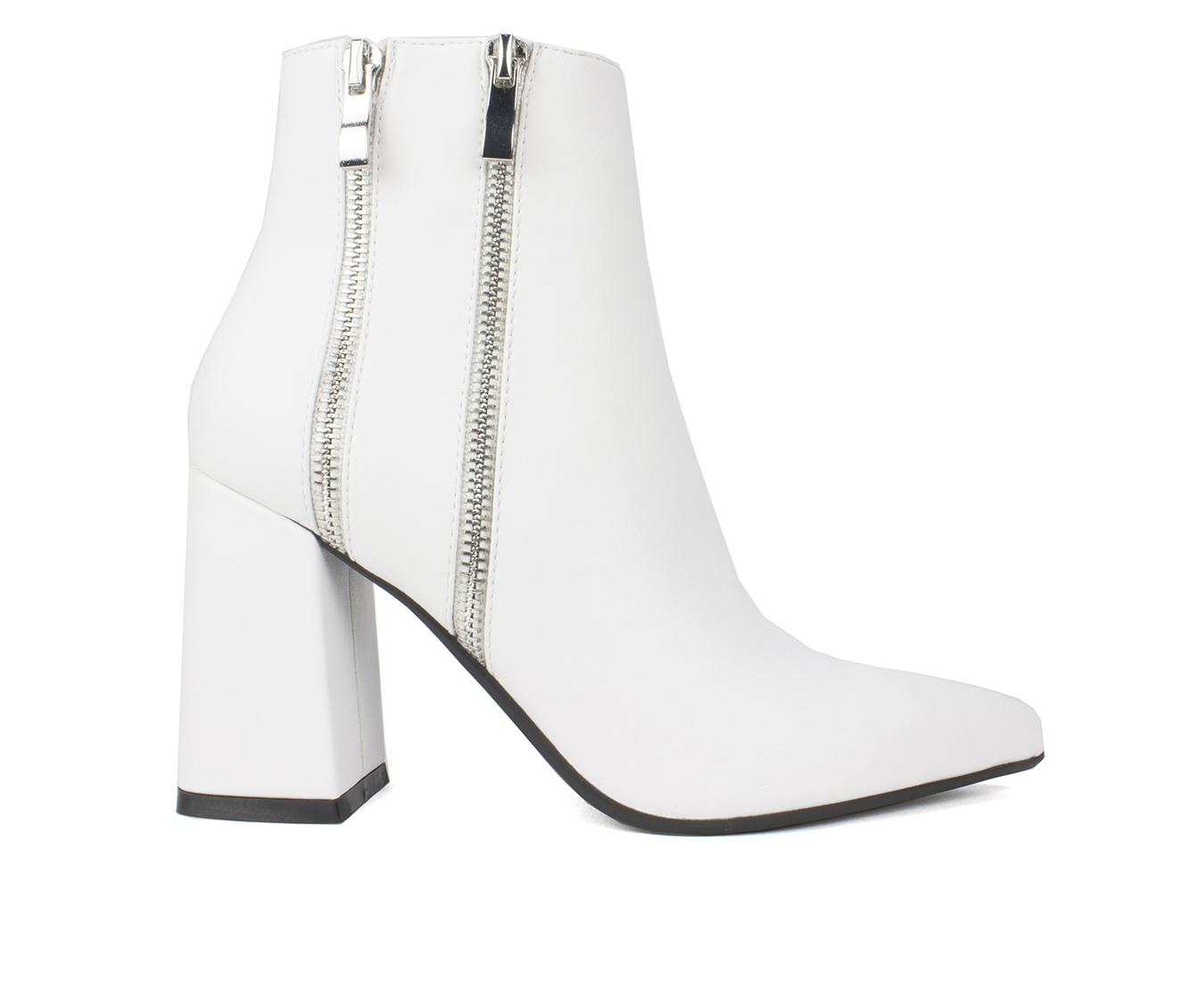 Seven Dials Fionah Women's Boot (White Faux Leather)