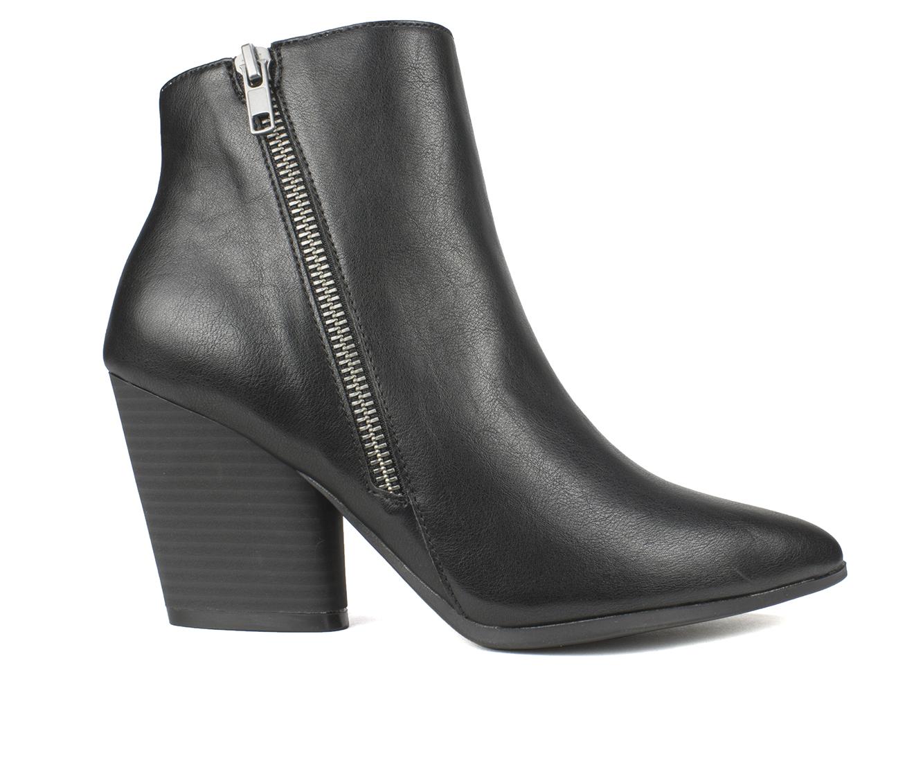 Seven Dials Hanston Women's Boots (Black - Faux Leather)