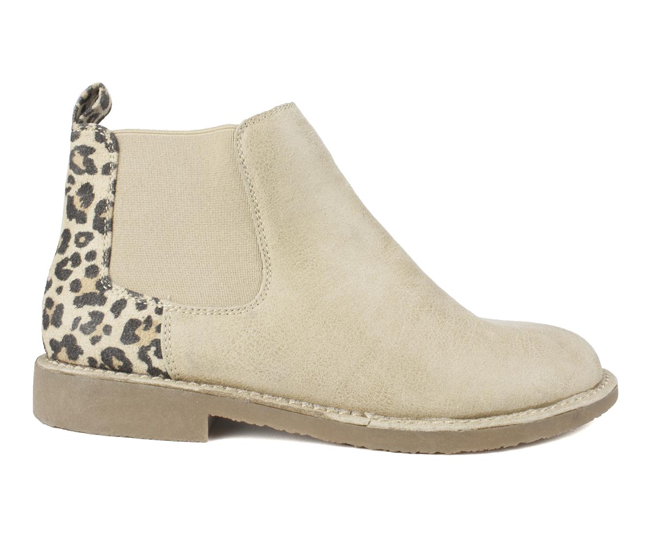 Seven Dials Marisah Women's Boots (Brown - Canvas)