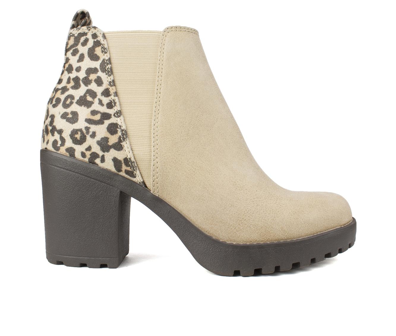 Seven Dials Pelton Women's Boots (Beige - Canvas)