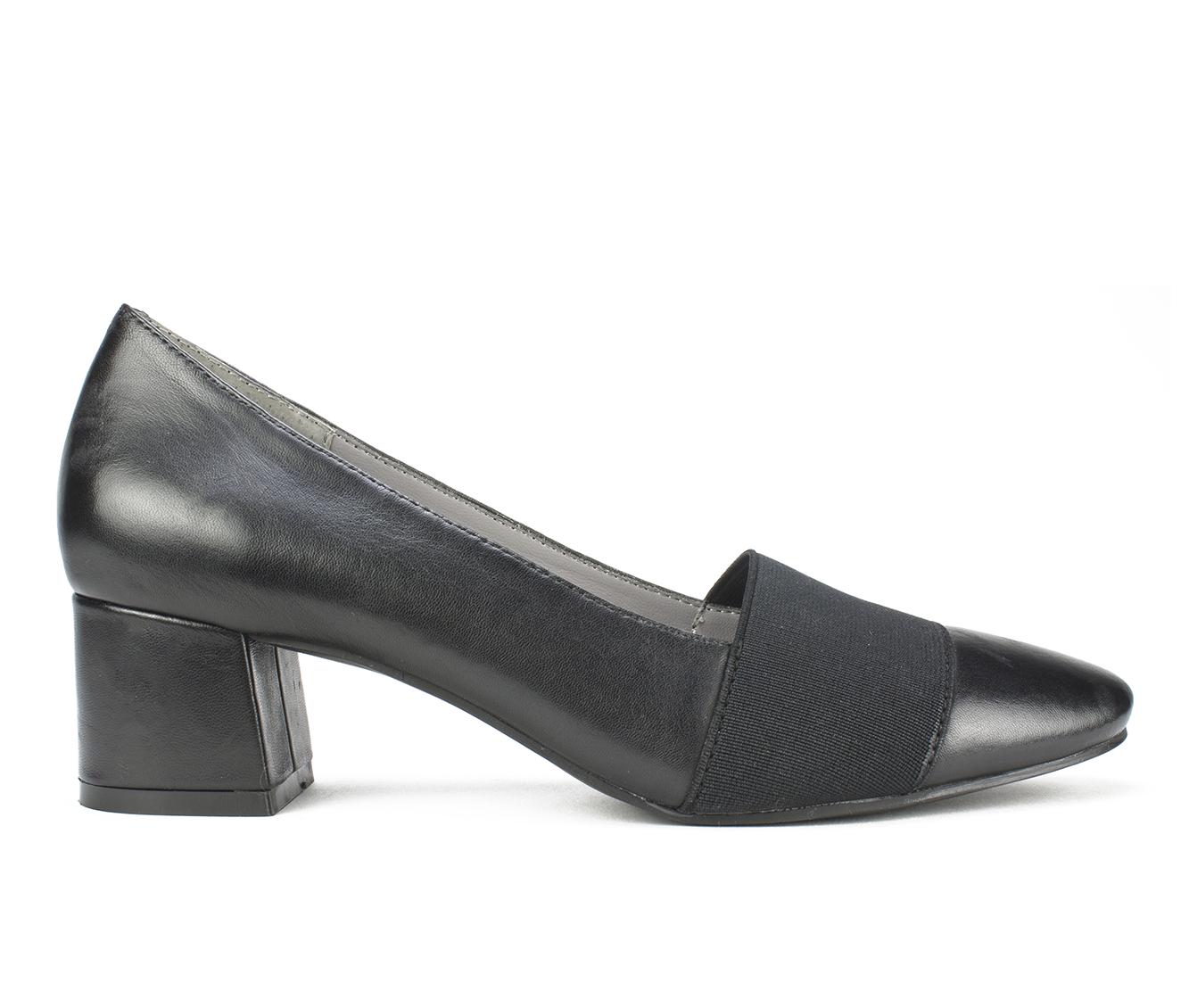 Cliffs Vivian Women's Dress Shoe (Black Leather)