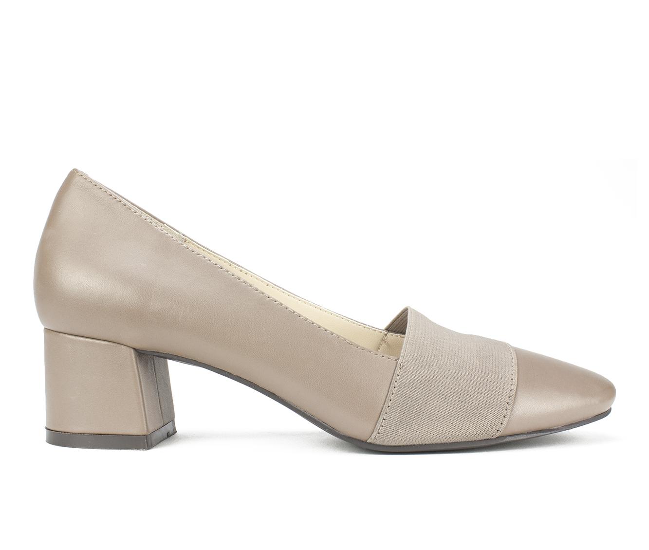 Cliffs Vivian Women's Dress Shoe (Gray Leather)