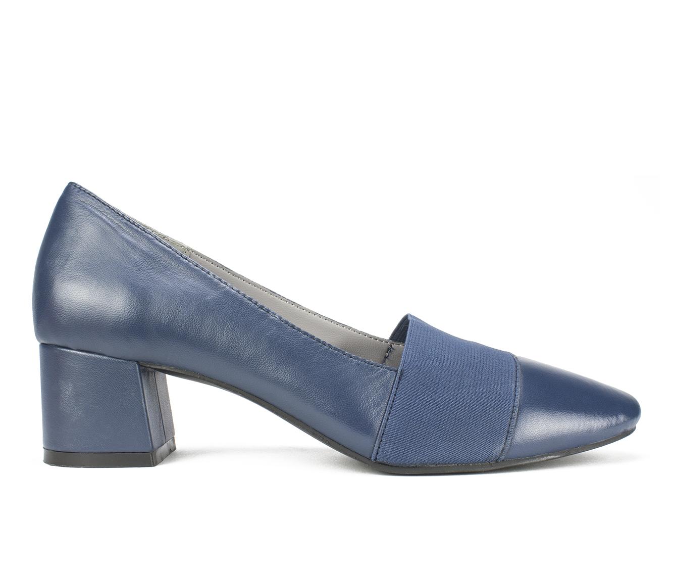 Cliffs Vivian Women's Dress Shoe (Blue Leather)