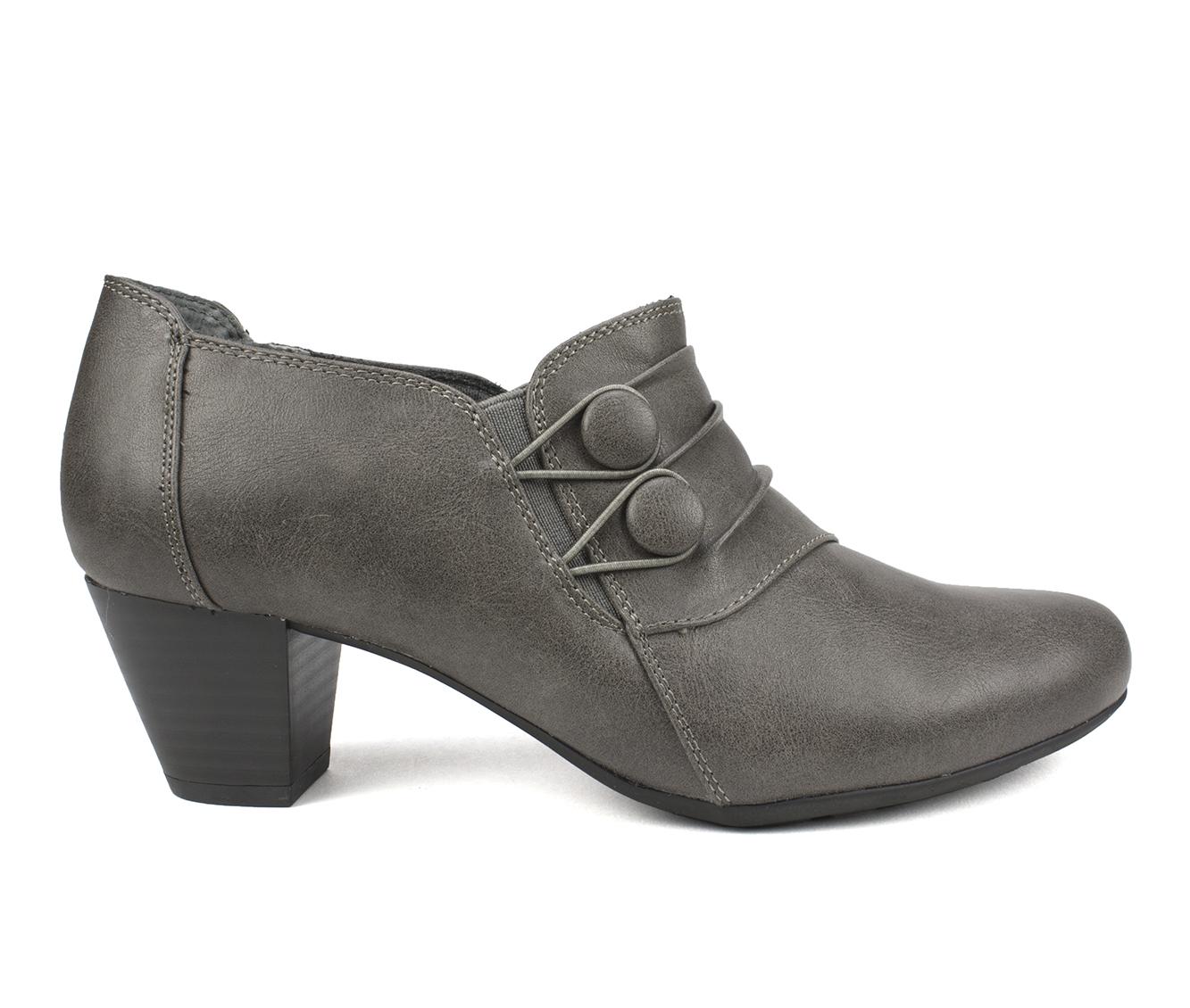 Cliffs Lampton Women's Dress Shoe (Gray Faux Leather)