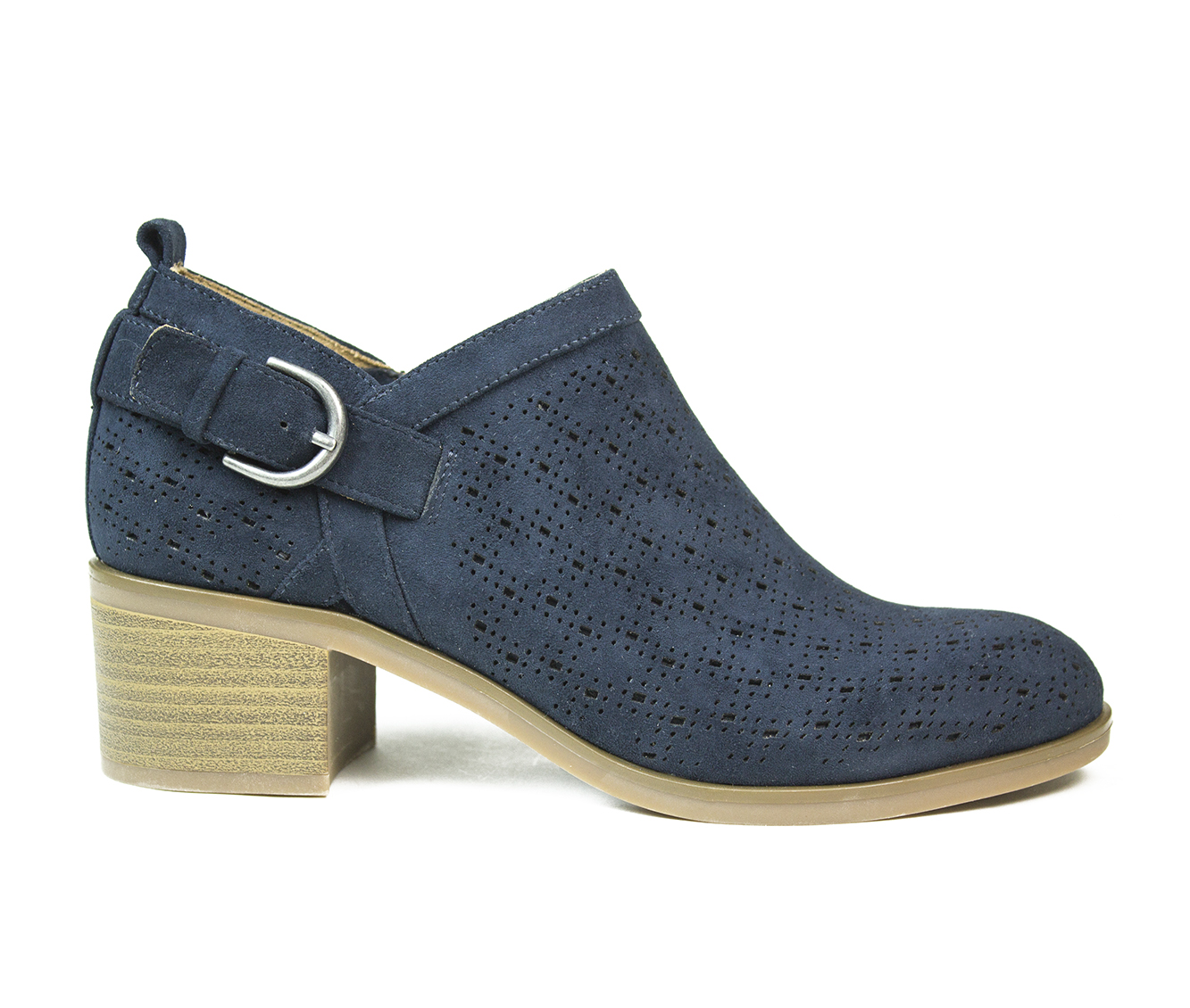 White Mountain Astrid Women's Shoe (Blue Suede)