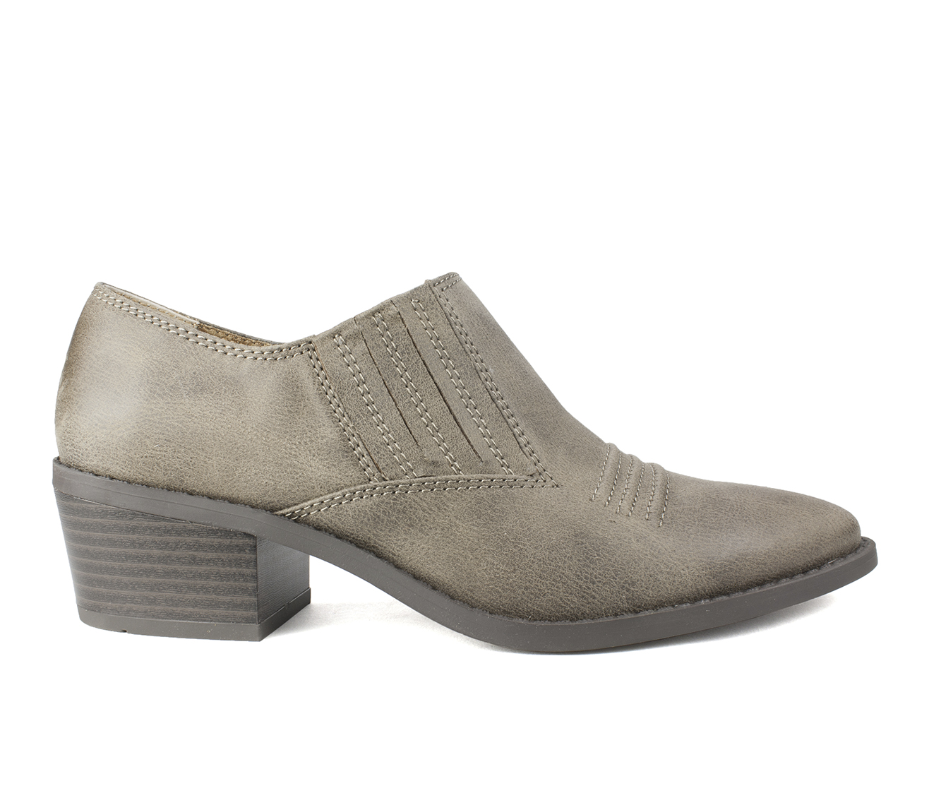 White Mountain Carroll Women's Shoe (Brown Canvas)