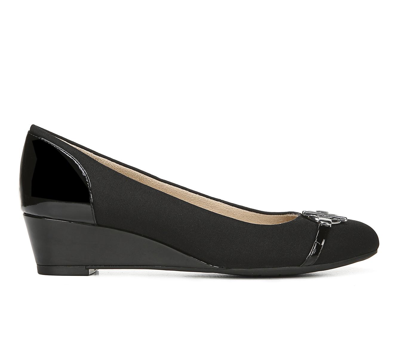 LifeStride Holland Women's Dress Shoe (Black Canvas)