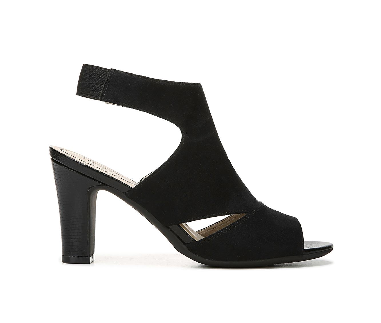 LifeStride Cara Women's Dress Shoe (Black Canvas)