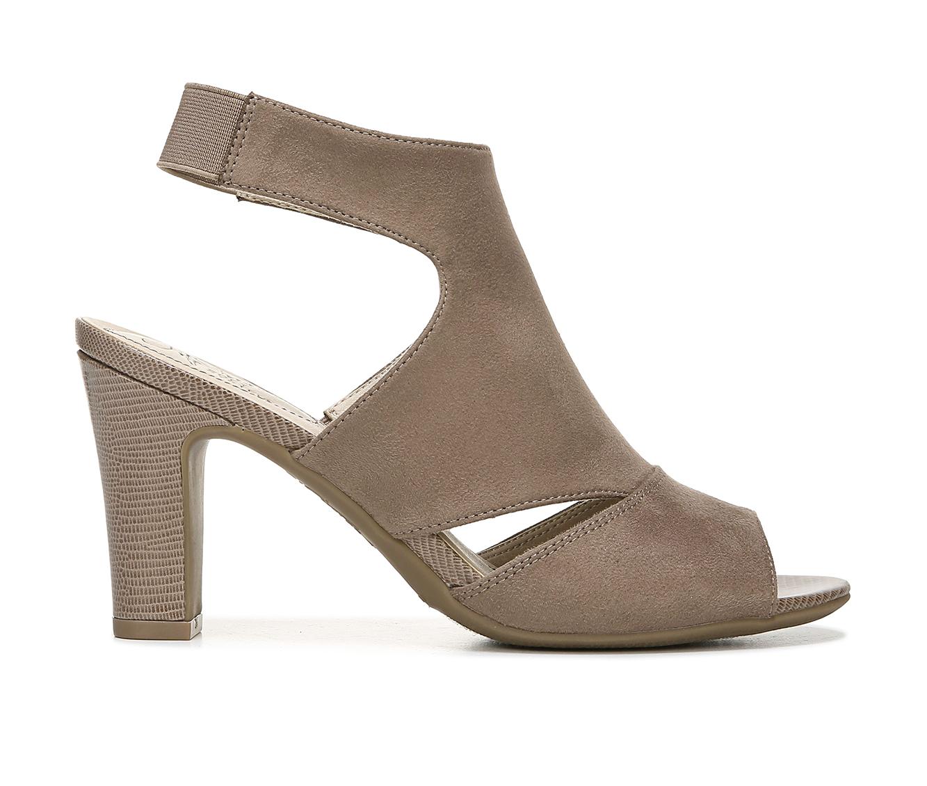 LifeStride Cara Women's Dress Shoe (Gray Canvas)