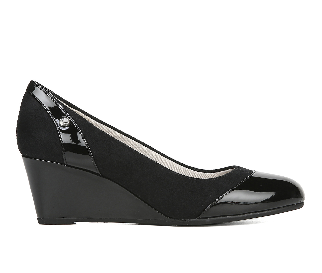 LifeStride Dreams Women's Dress Shoe (Black Canvas)
