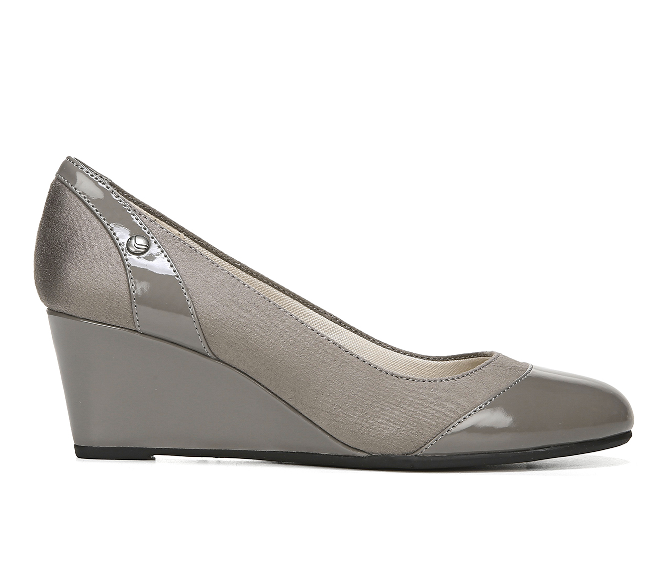 LifeStride Dreams Women's Dress Shoe (Gray Canvas)