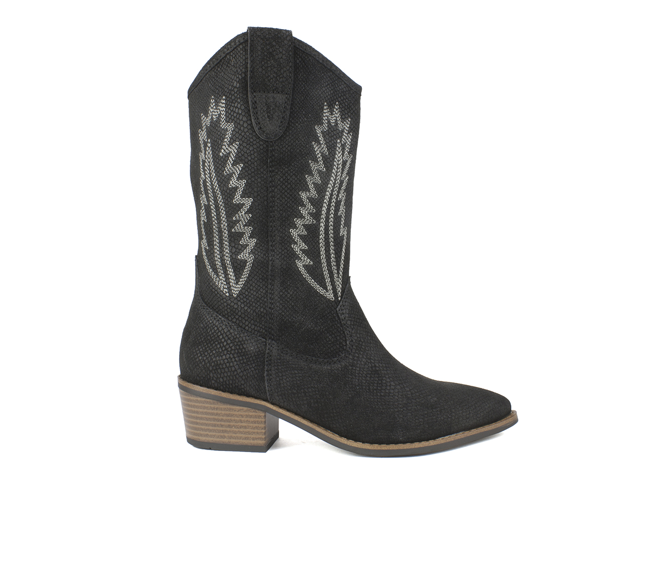 White Mountain Caraway Women's Boots (Black - Leather)