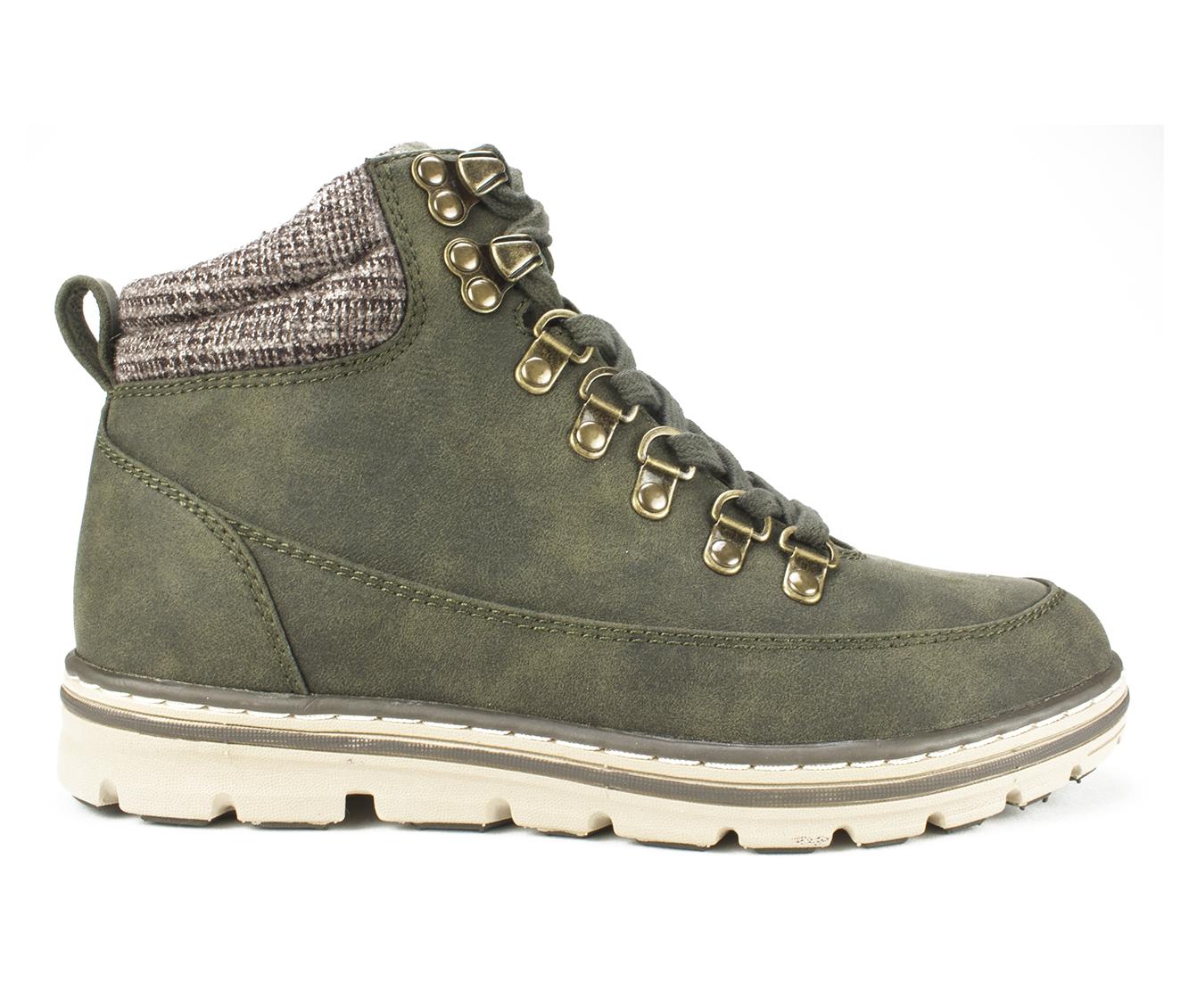 Cliffs Karmen Women's Boot (Green Faux Leather)