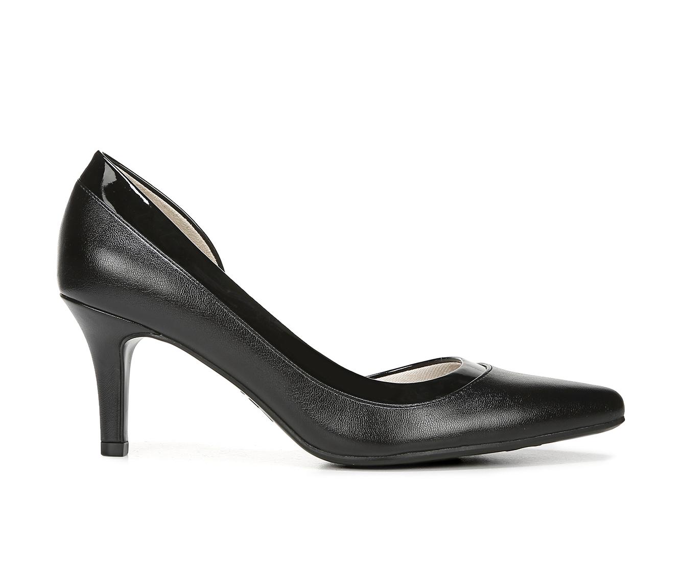 LifeStride Swann Women's Dress Shoe (Black Faux Leather)
