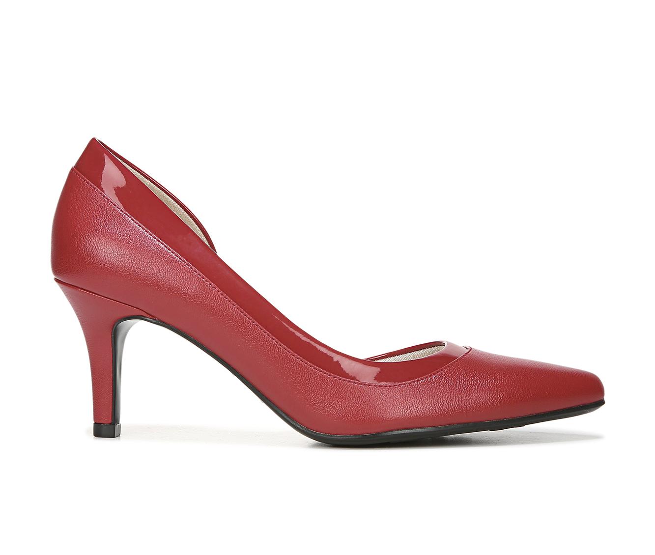 LifeStride Swann Women's Dress Shoe (Red Faux Leather)