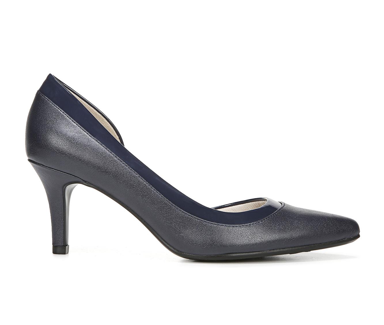 LifeStride Swann Women's Dress Shoe (Blue Faux Leather)