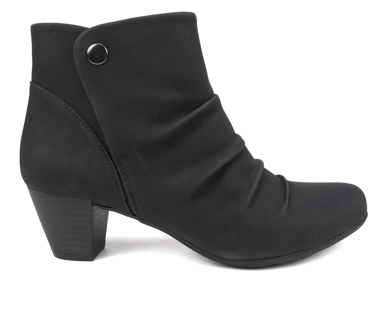 Cliffs Landon Women's Boot (Black Canvas)