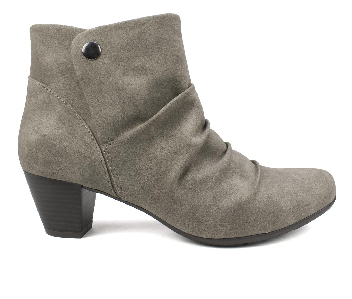 Cliffs Landon Women's Boot (Gray Faux Leather)