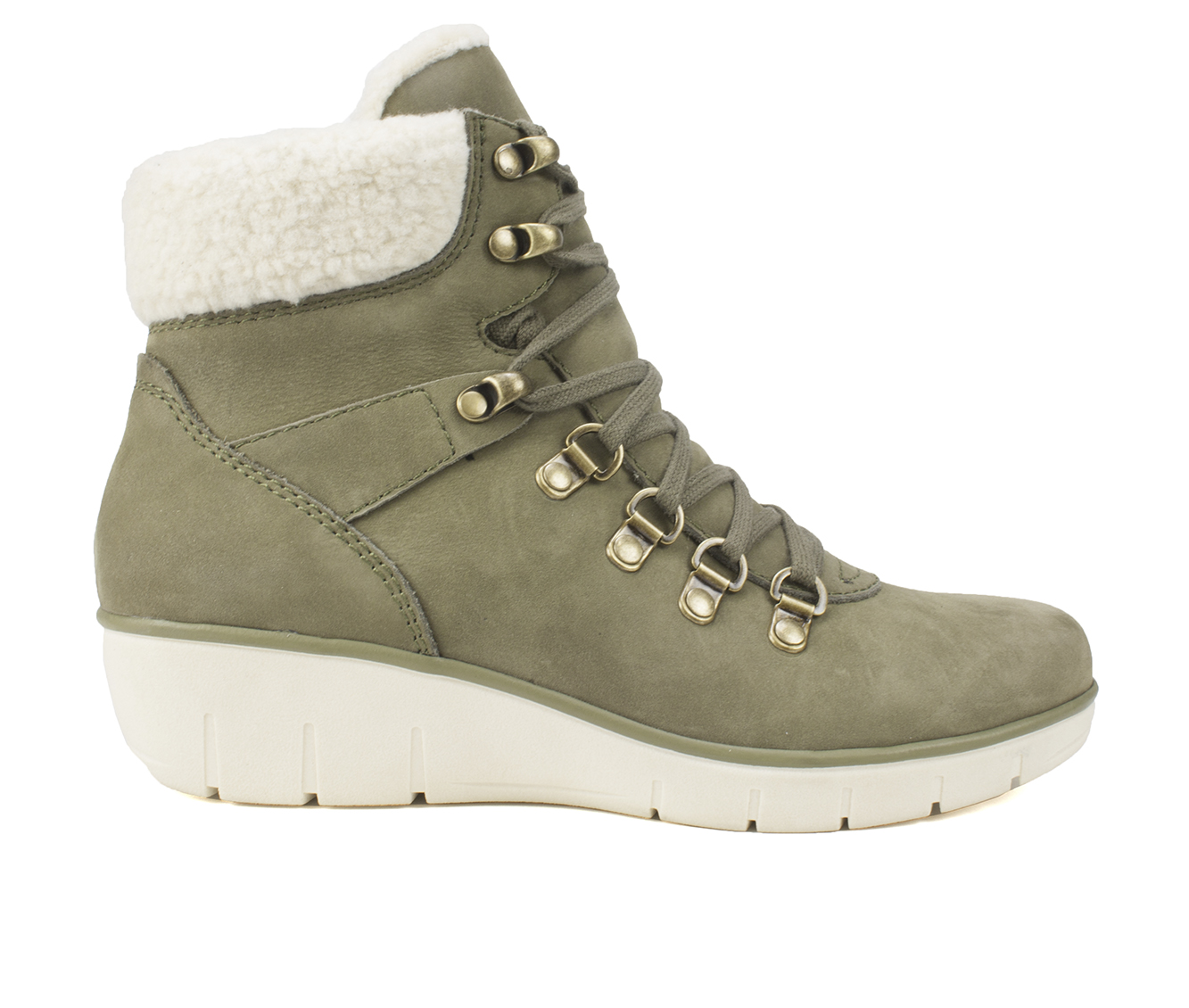 Cliffs Emory Women's Boot (Green Leather)