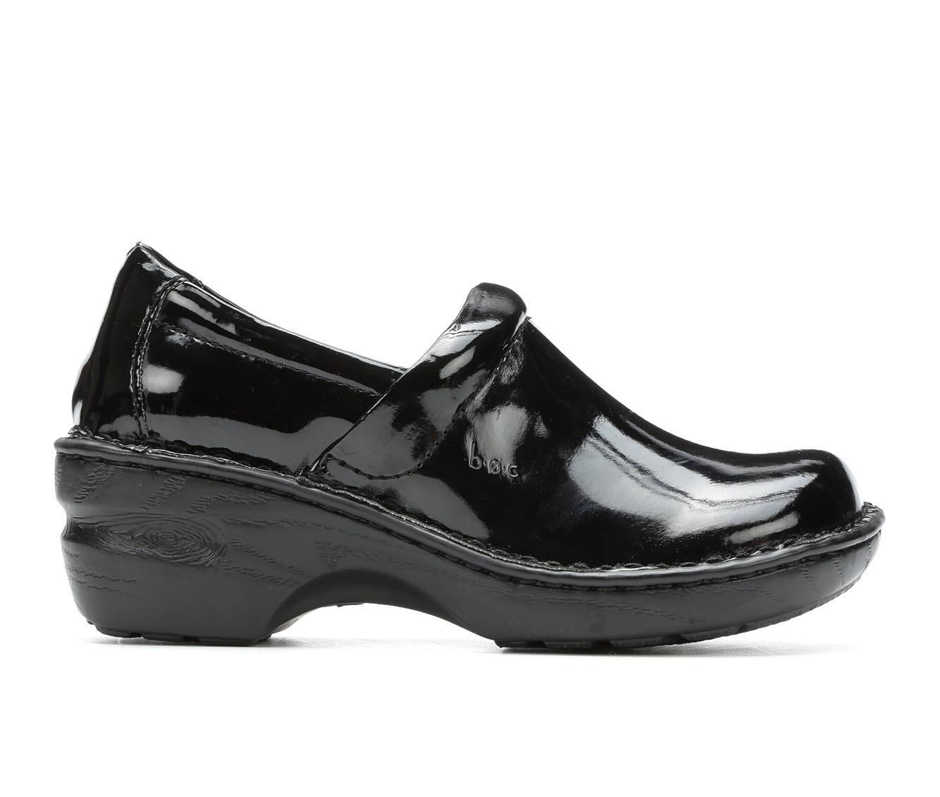 B.O.C. Peggy Women's Shoe (Black Faux Leather)