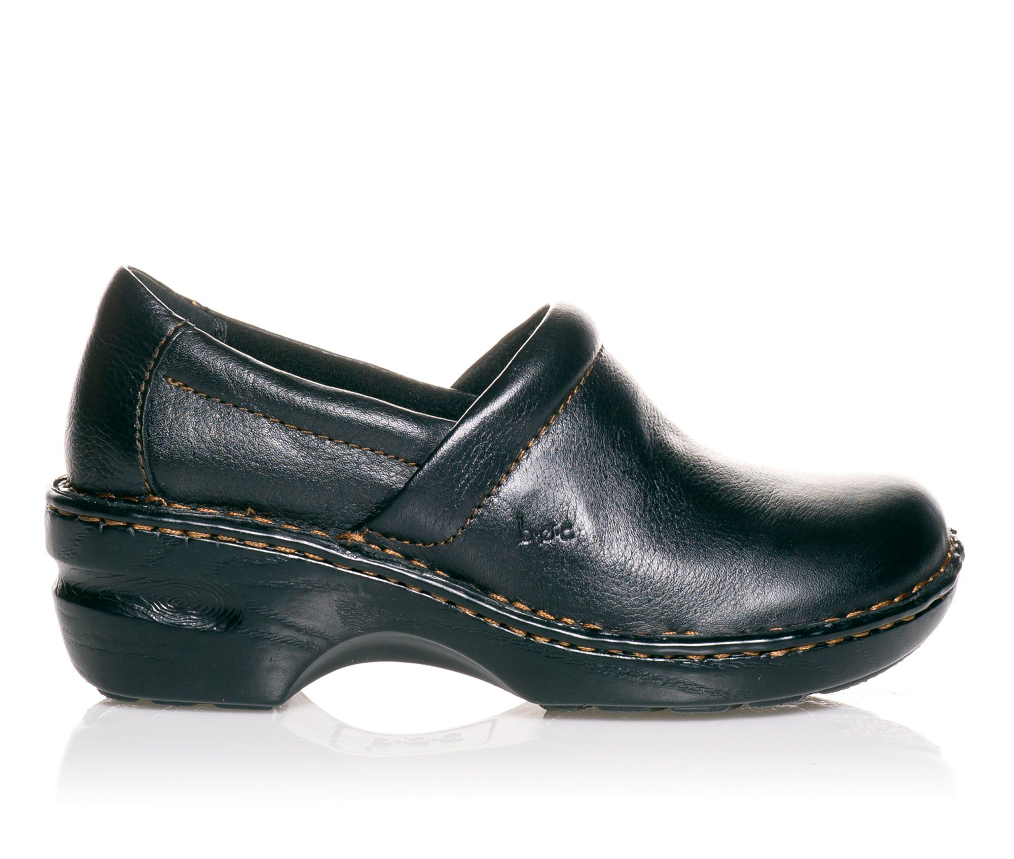 B.O.C. Peggy Women's Shoe (Black Leather)
