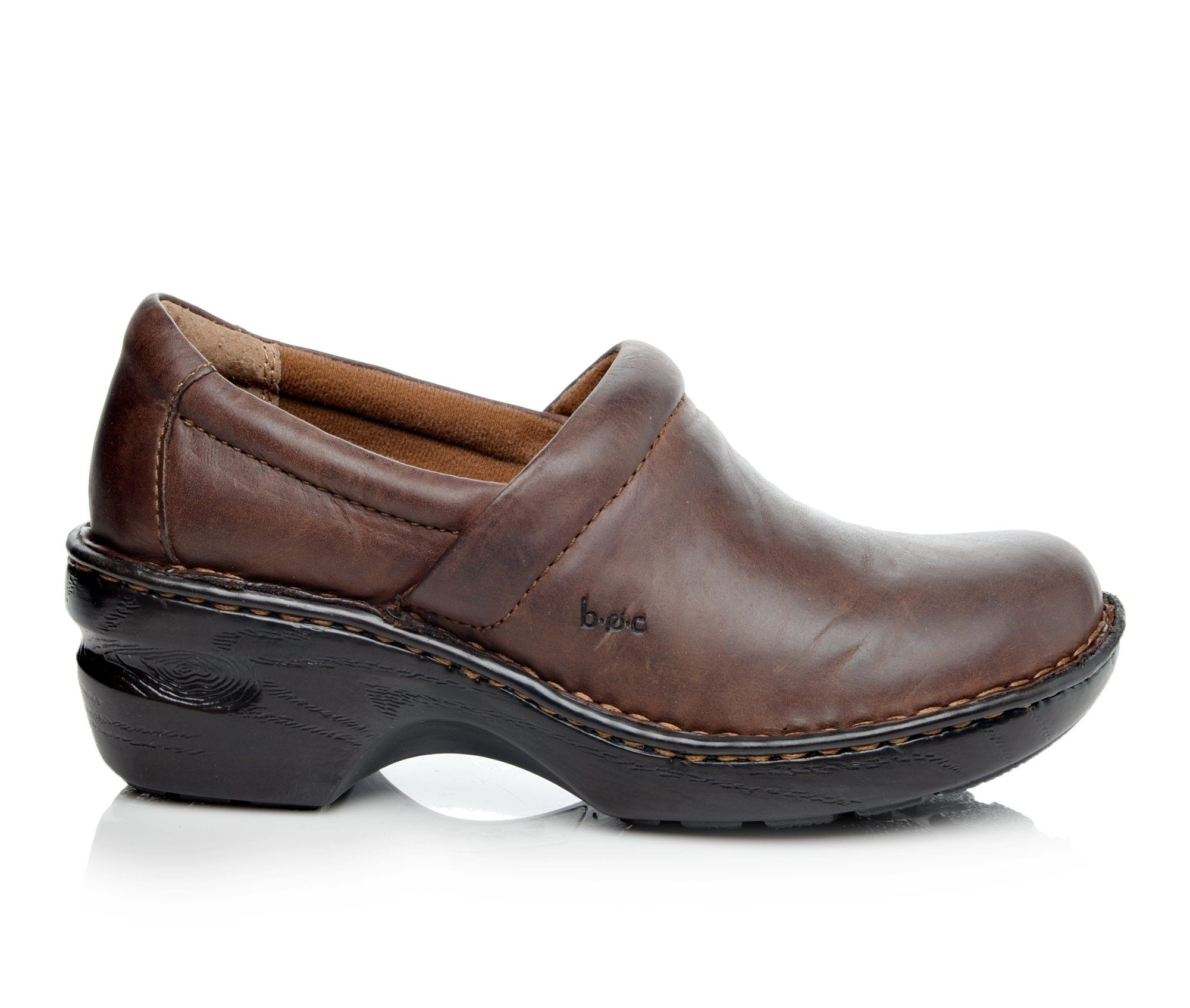 B.O.C. Peggy Women's Shoe (Brown Leather)