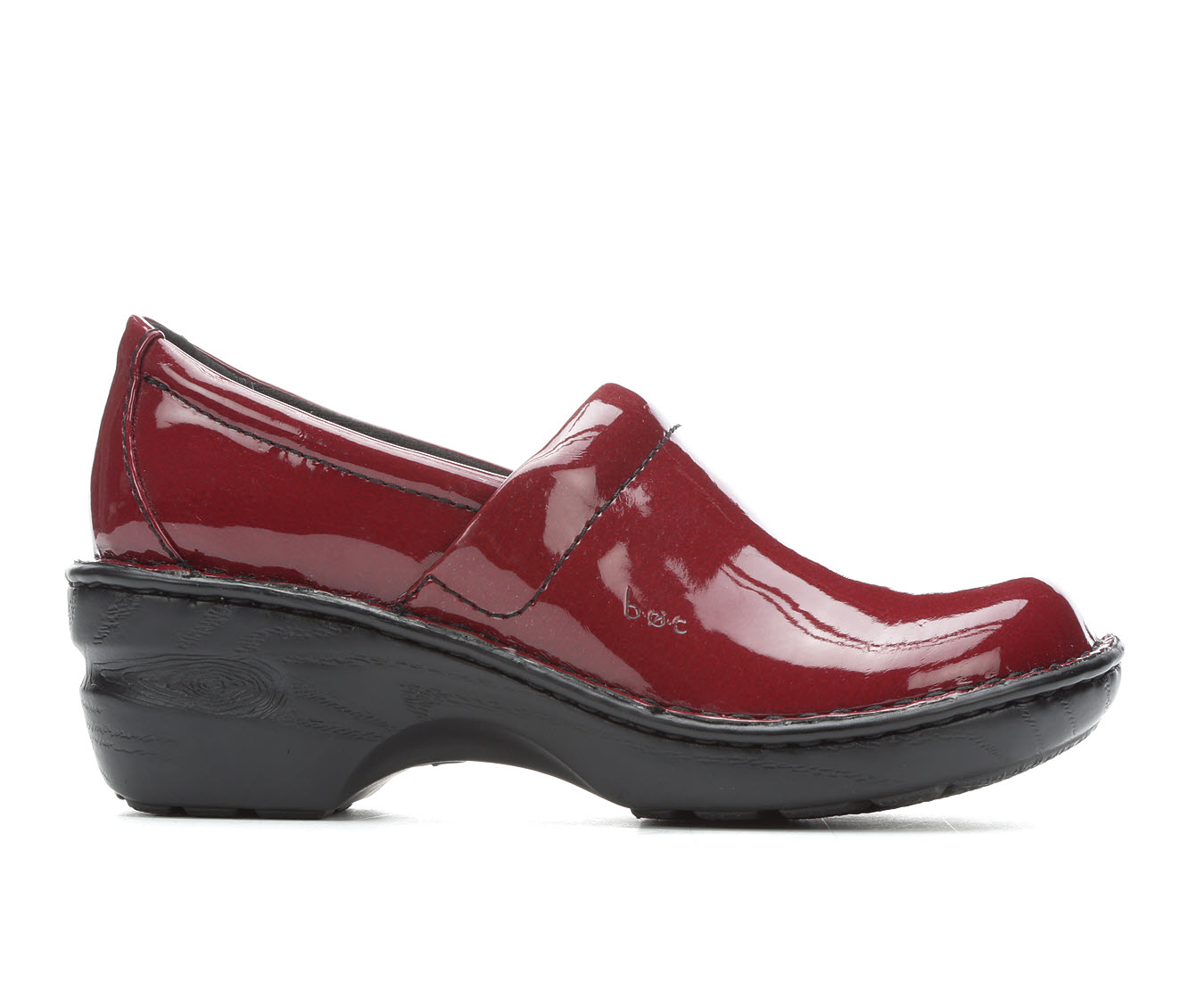 B.O.C. Peggy Women's Shoe (Red Faux Leather)