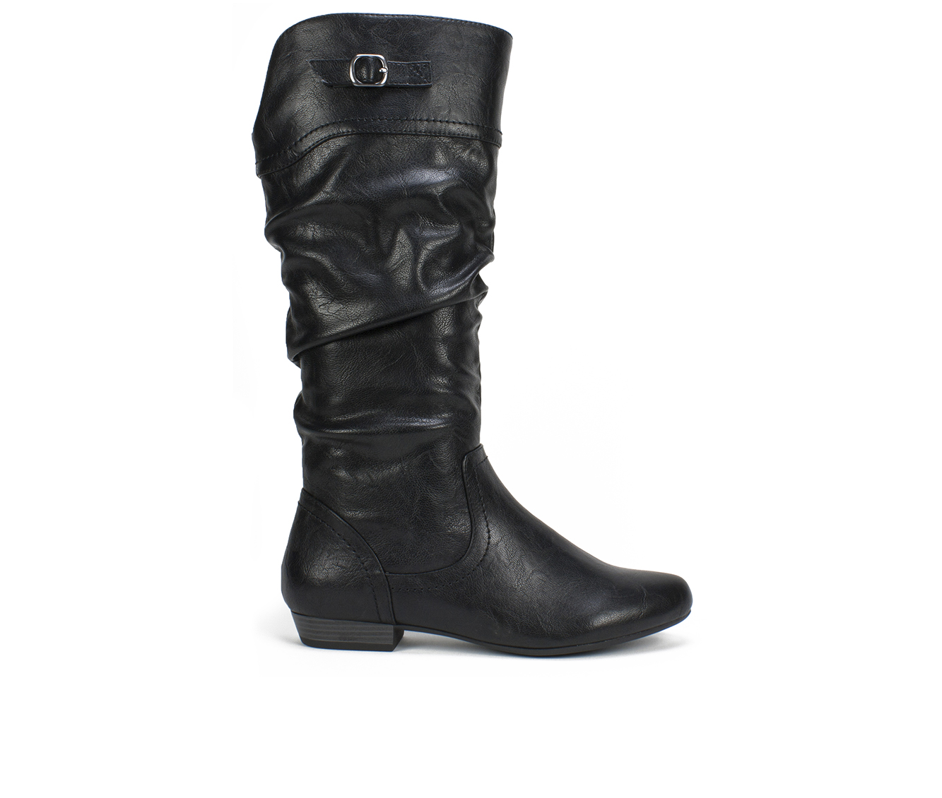 Cliffs Fox Women's Boot (Black Faux Leather)