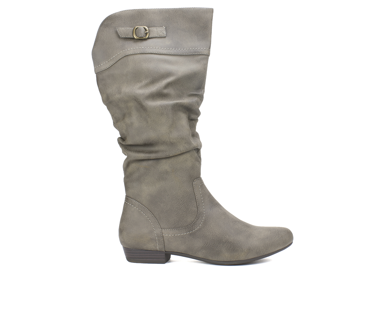 Cliffs Fox Women's Boot (Gray Faux Leather)