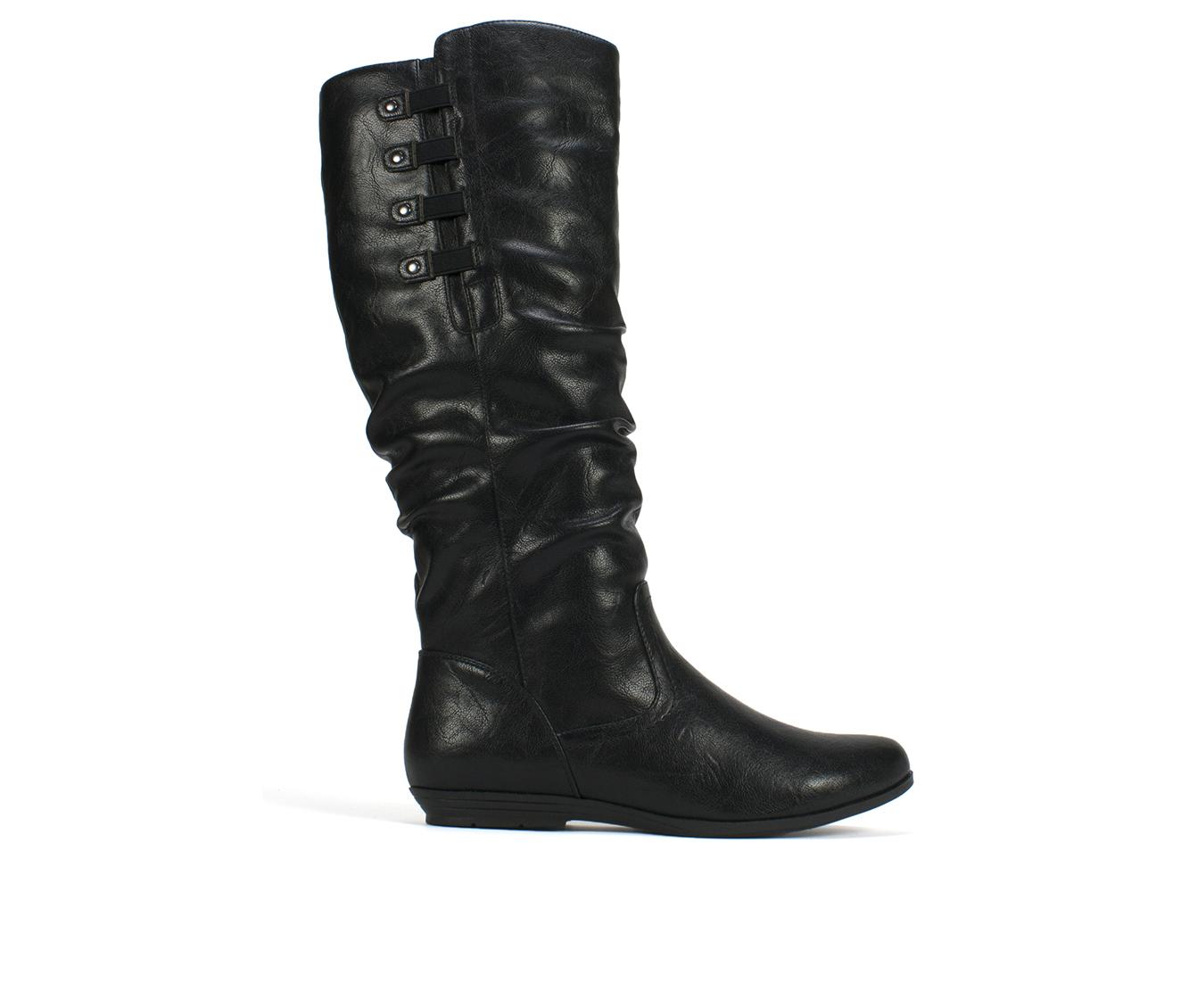 Cliffs Francie Women's Boot (Black Faux Leather)
