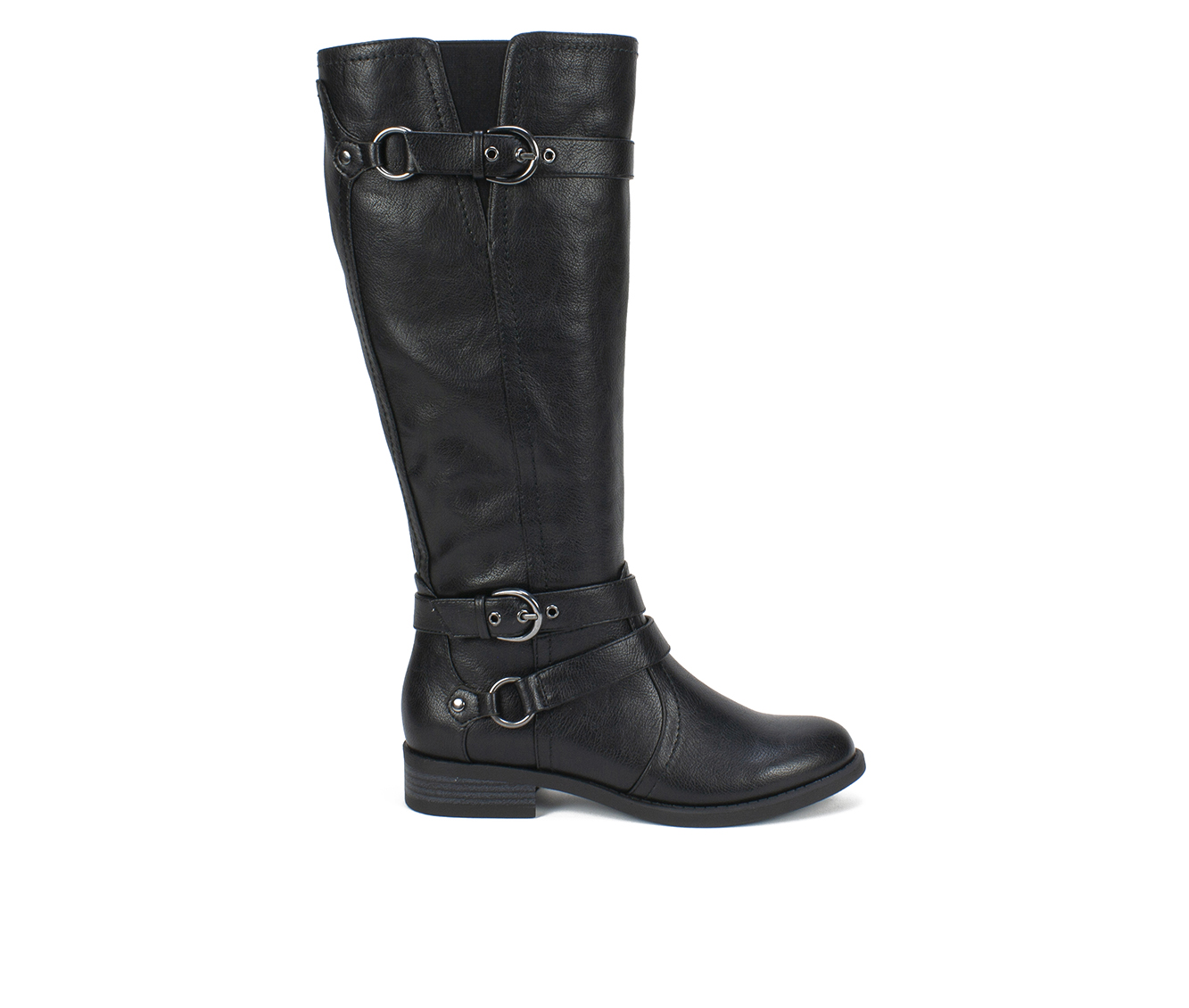 White Mountain Loyal Women's Boots (Black - Faux Leather)