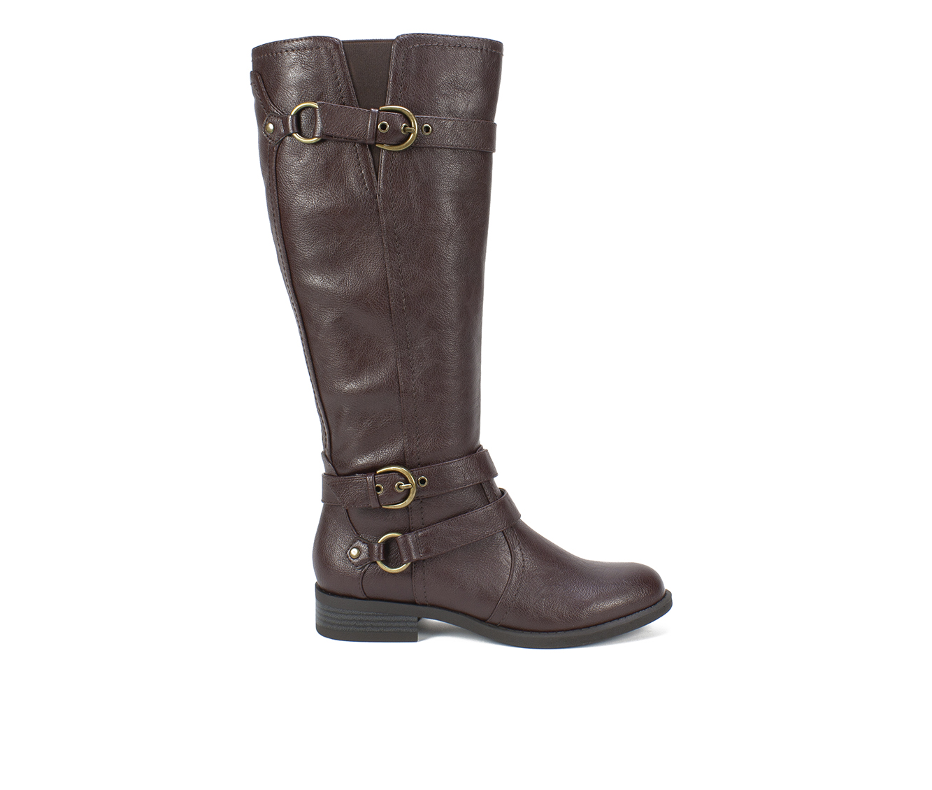 White Mountain Loyal Women's Boots (Brown - Faux Leather)
