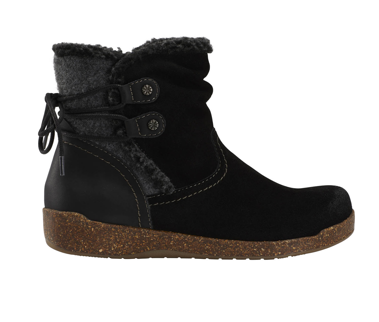 Earth Origins Aurora Jolene Women's Boots (Black - Suede)