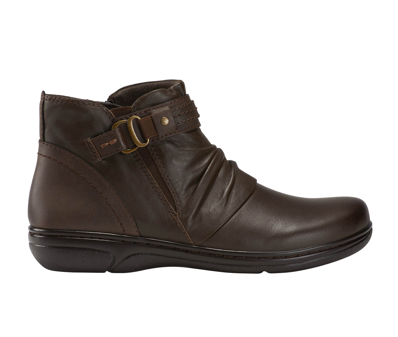 Earth Origins Glendale Gamila Women's Boot (Brown Leather)