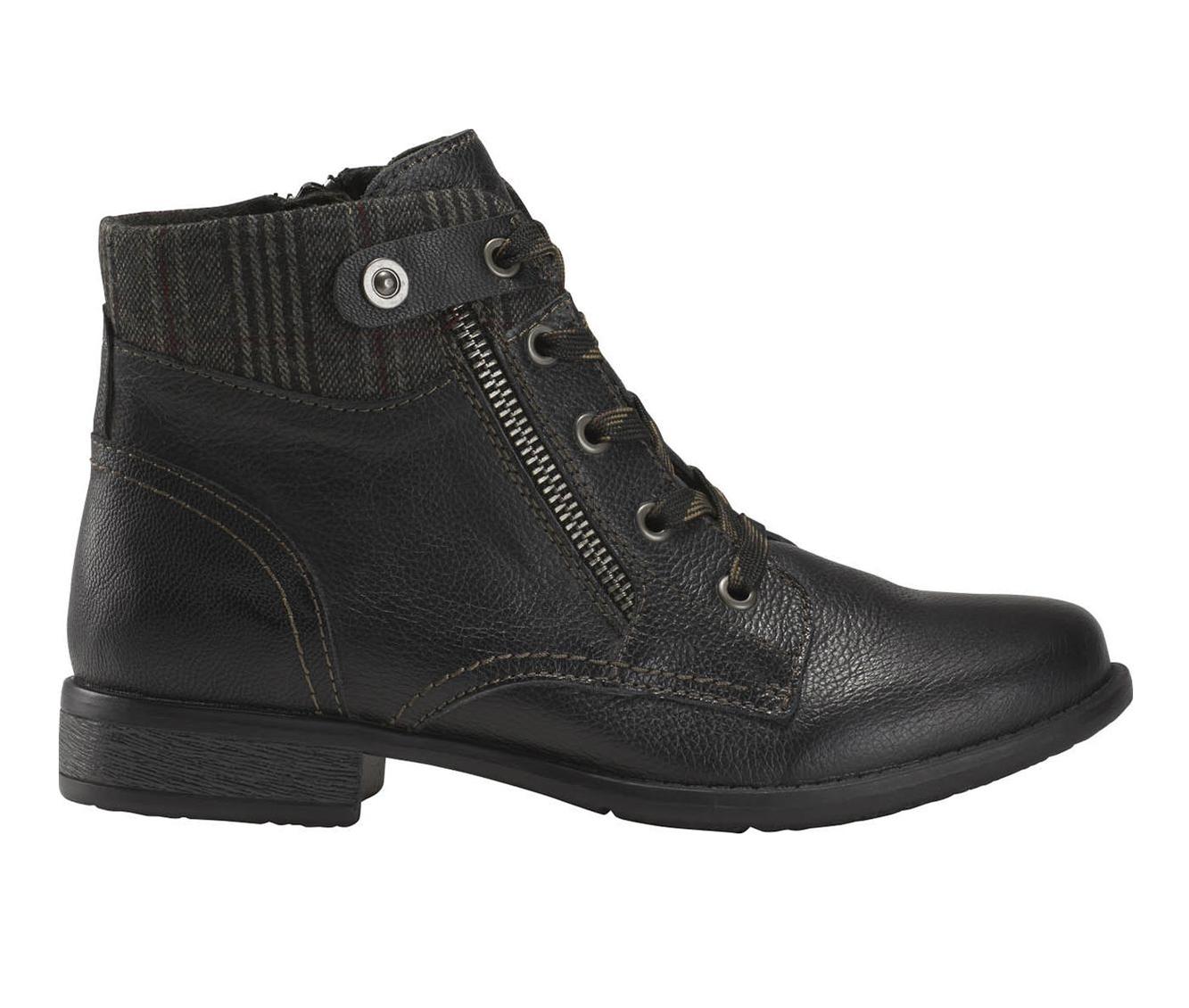 Earth Origins Navigate Nesta Women's Boots (Black - Leather)