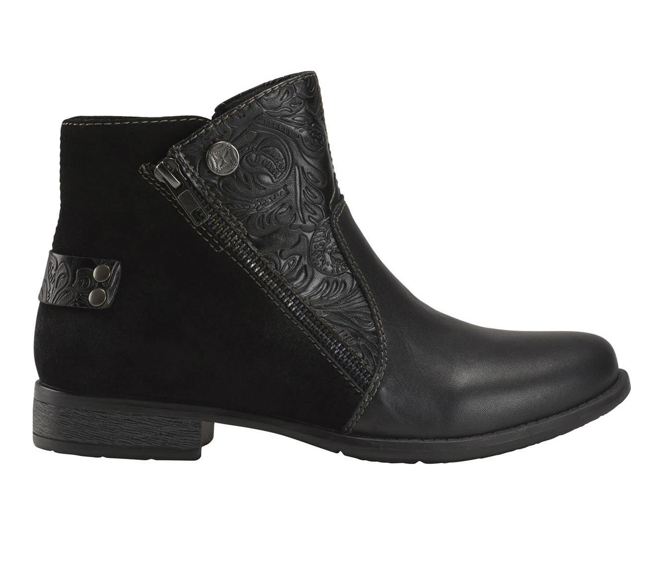 Earth Origins Navigate Noah Women's Boots (Black - Leather)