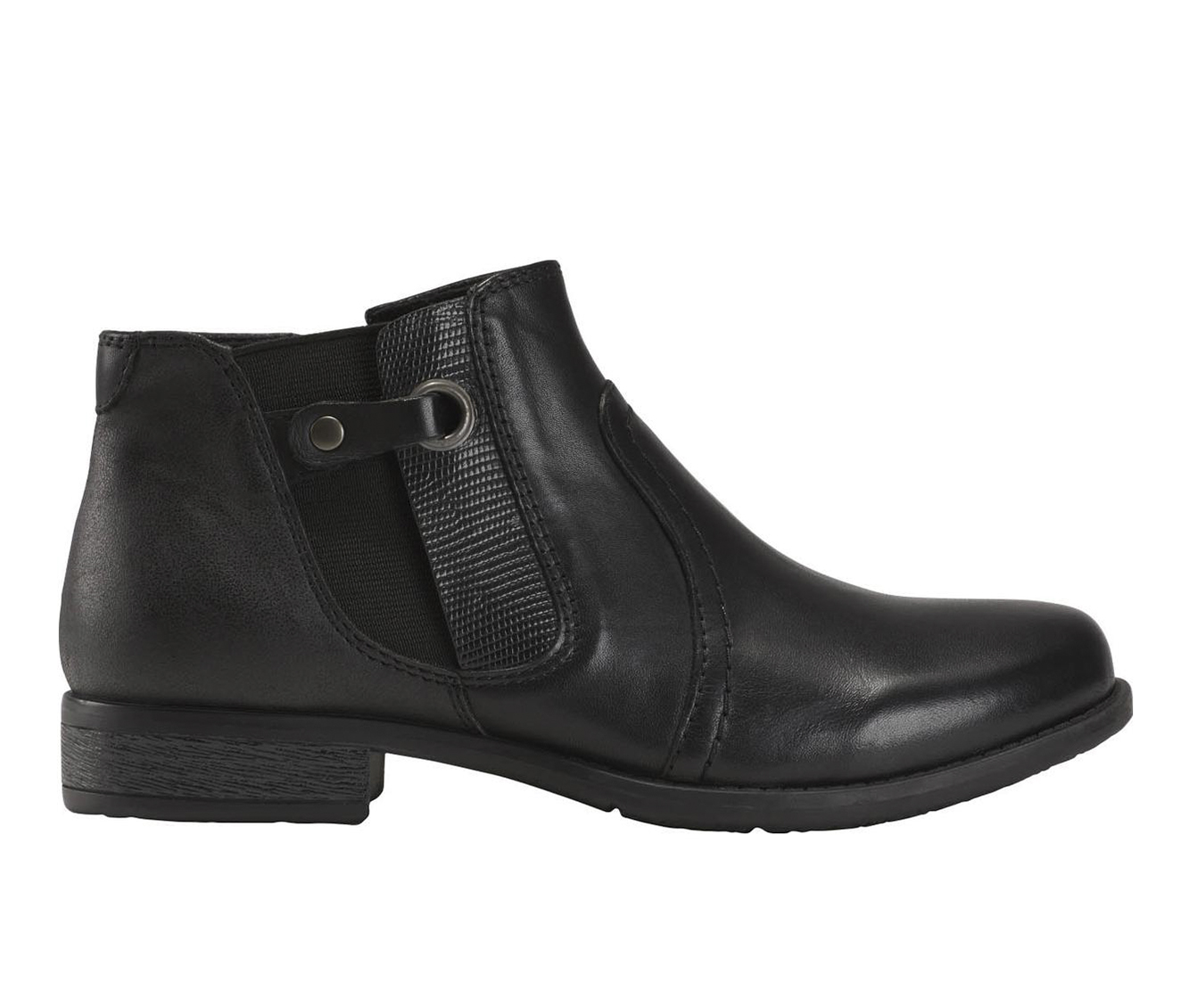 Earth Origins Navigate Norma Women's Boot (Black Leather)
