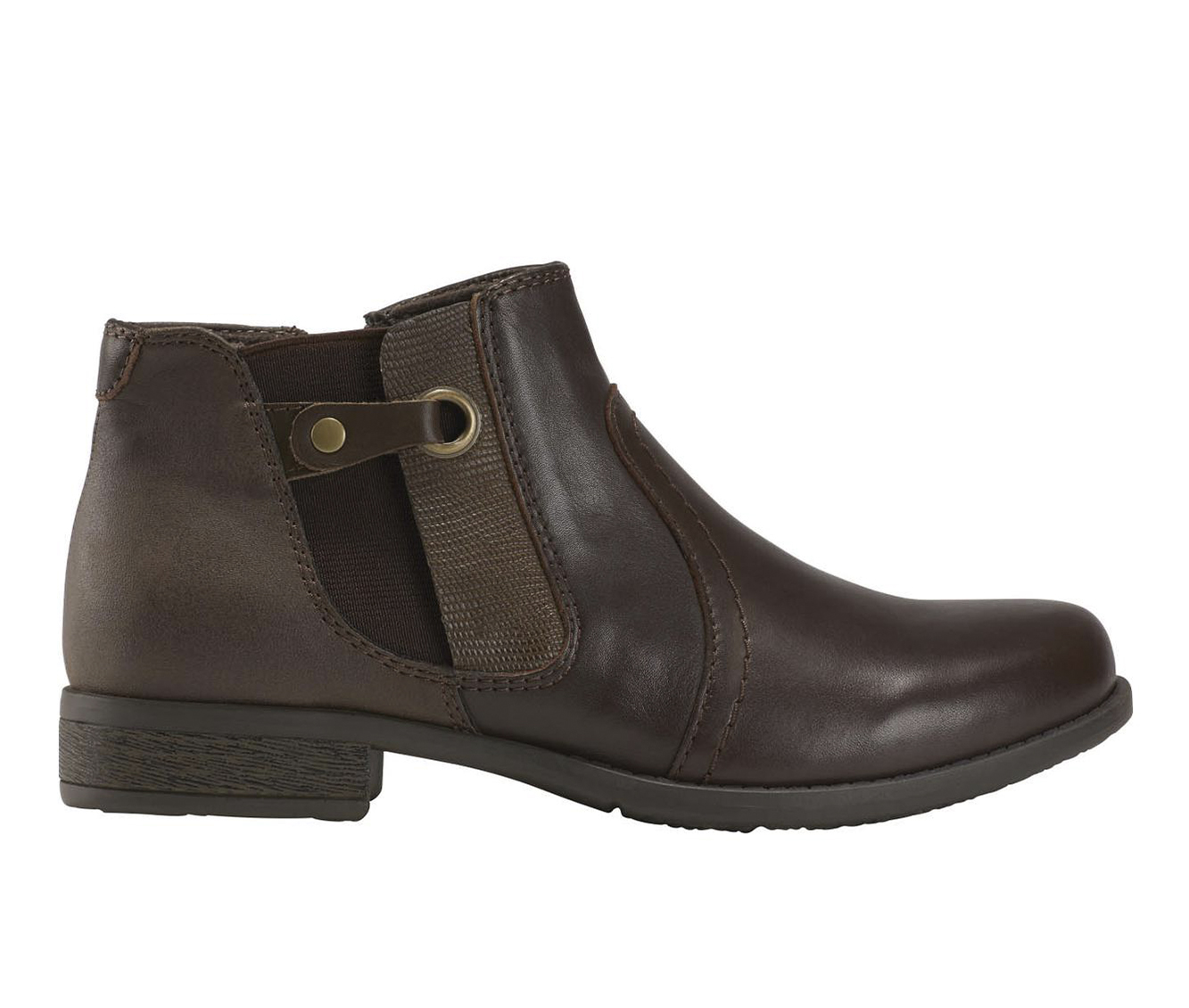 Earth Origins Navigate Norma Women's Boot (Brown Leather)