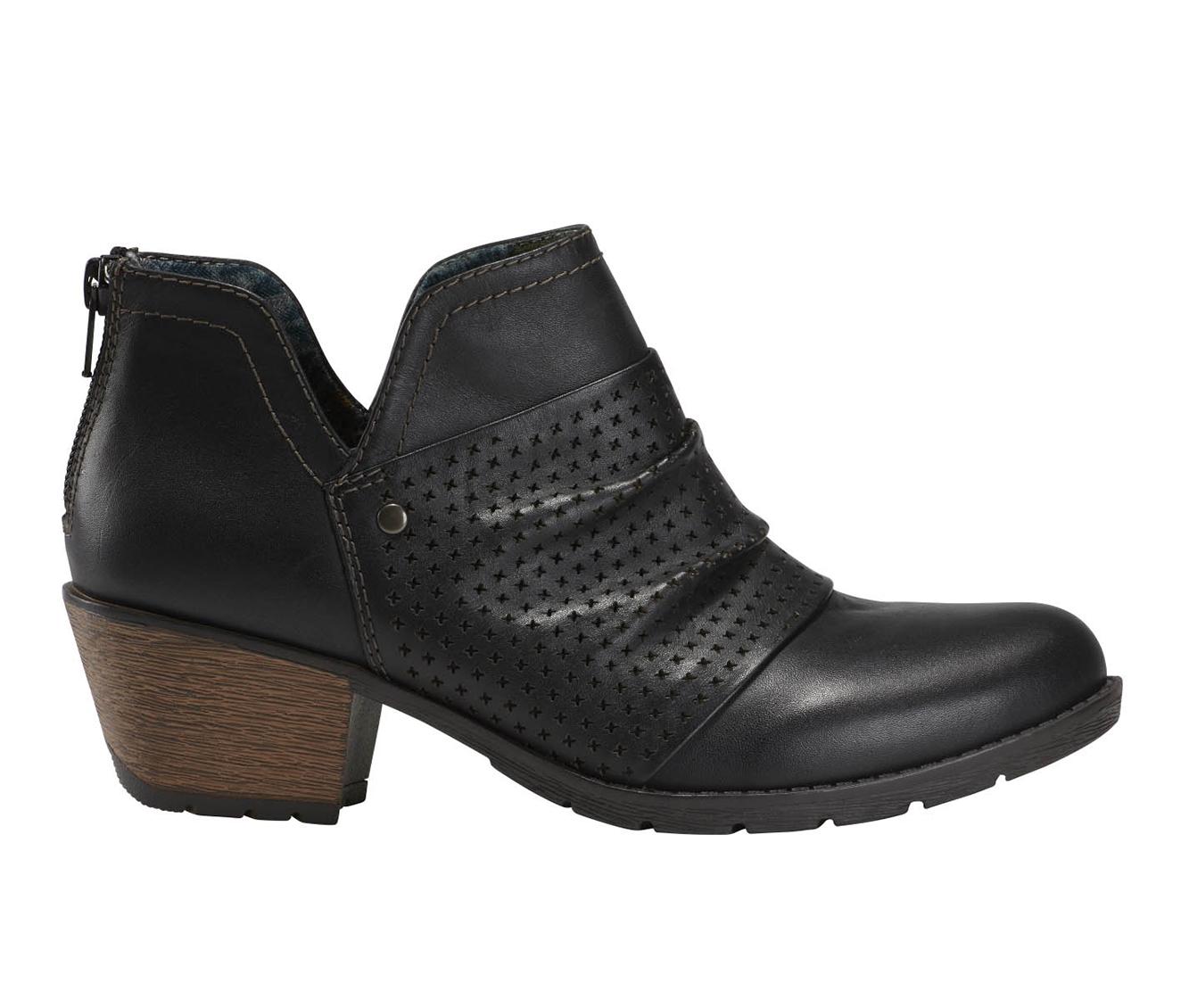 Earth Origins Oakland Amanda Women's Boots (Black - Leather)