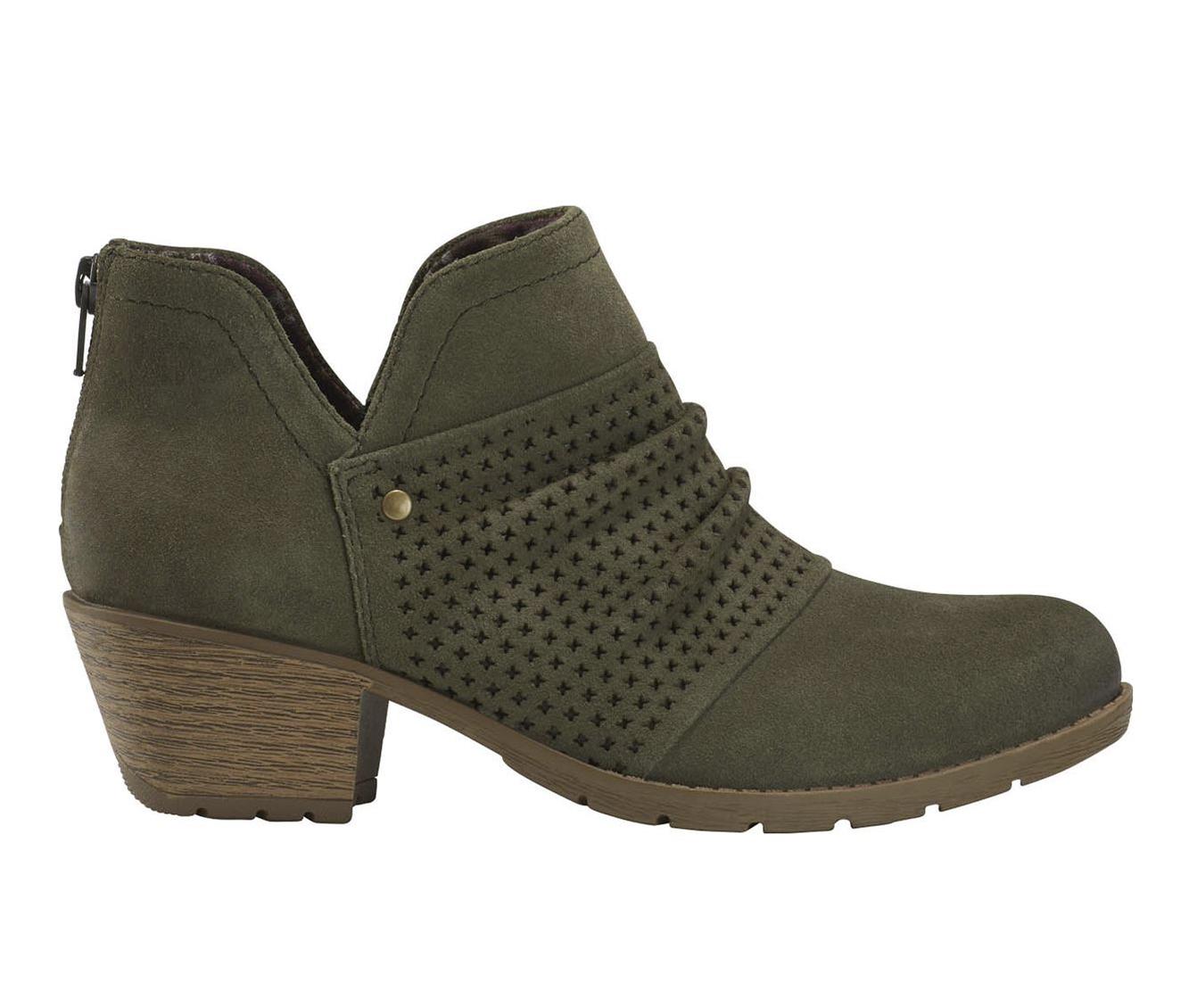 Earth Origins Oakland Amanda Women's Boots (Green - Suede)