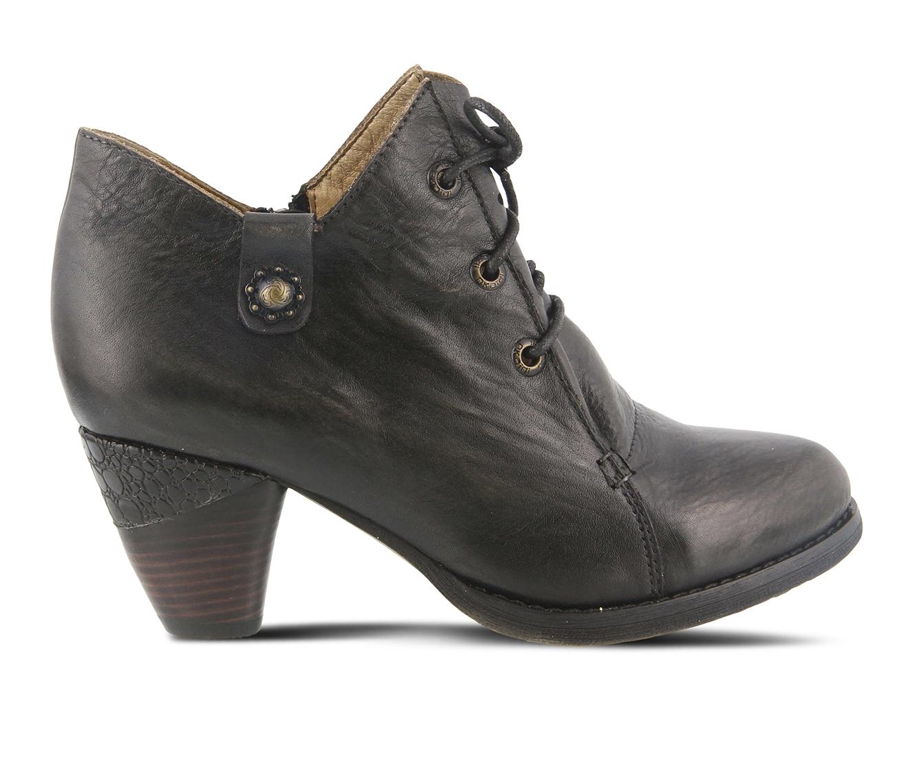 L'Artiste Juliane Women's Dress Shoe (Black Leather)
