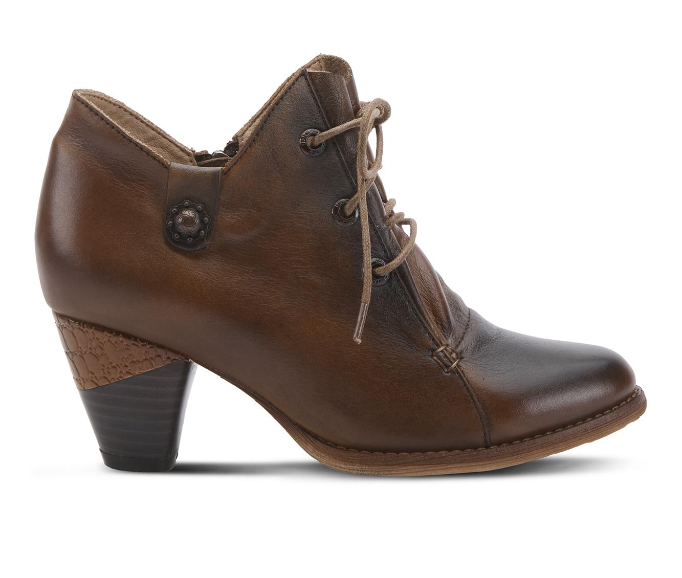 L'Artiste Juliane Women's Dress Shoe (Brown Leather)