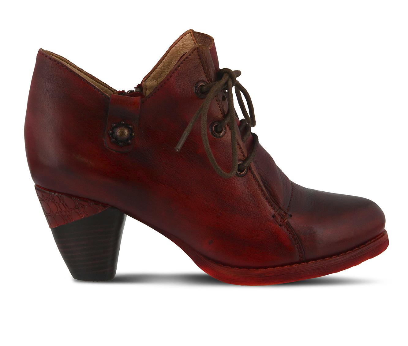 L'Artiste Juliane Women's Dress Shoe (Red Leather)