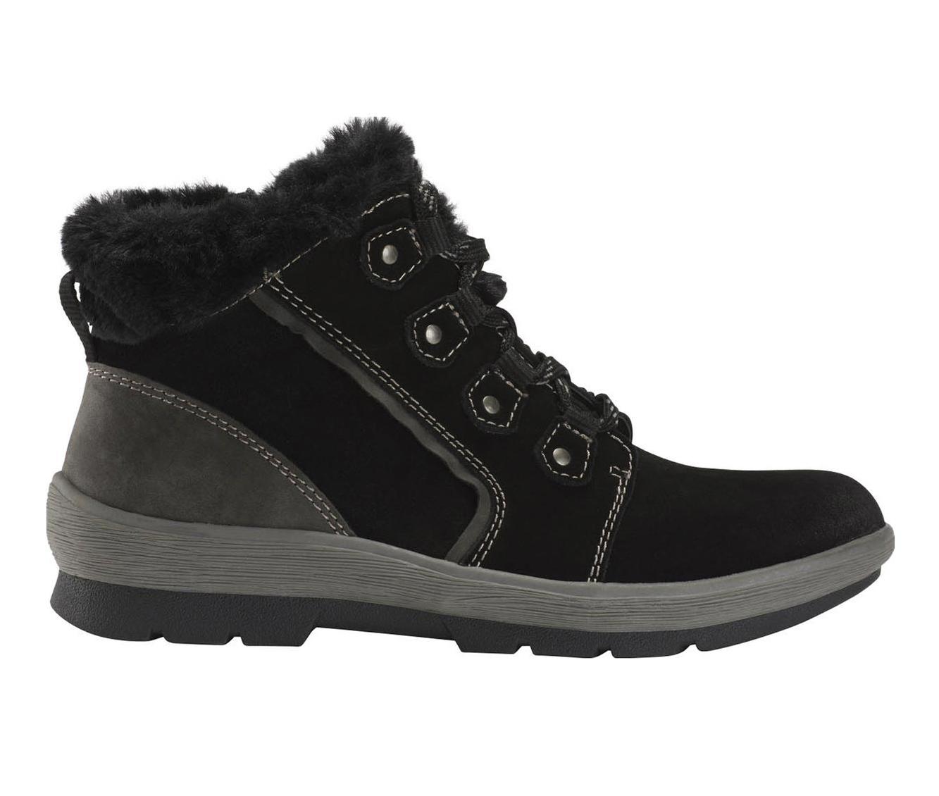 Earth Origins Sherpa Scarlett Women's Boots (Black - Suede)