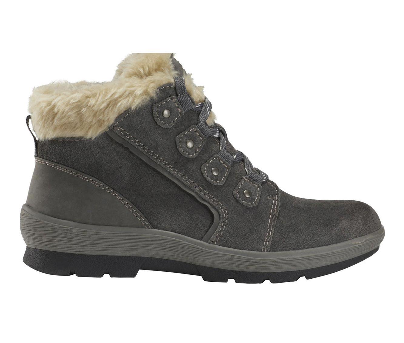Earth Origins Sherpa Scarlett Women's Boots (Gray - Suede)