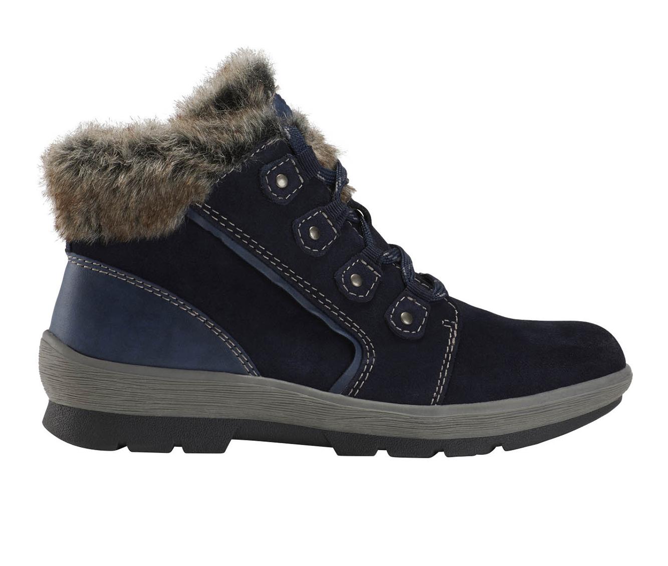 Earth Origins Sherpa Scarlett Women's Boots (Blue - Suede)