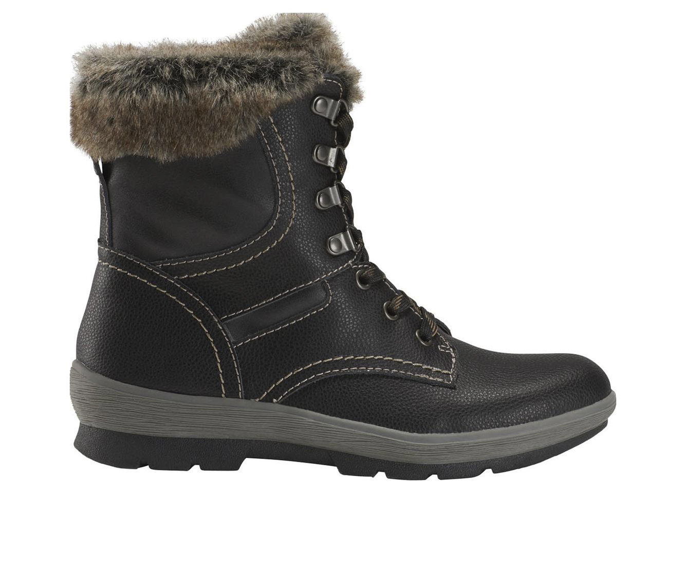 Earth Origins Sherpa Serenity Women's Boot (Black Leather)