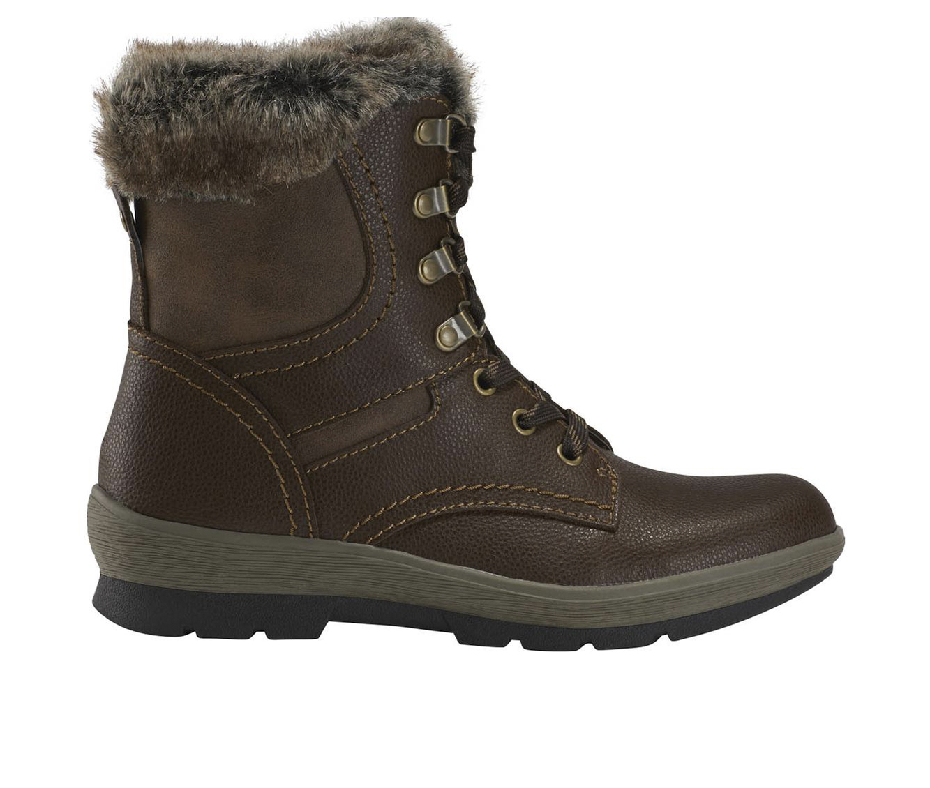 Earth Origins Sherpa Serenity Women's Boot (Brown Leather)