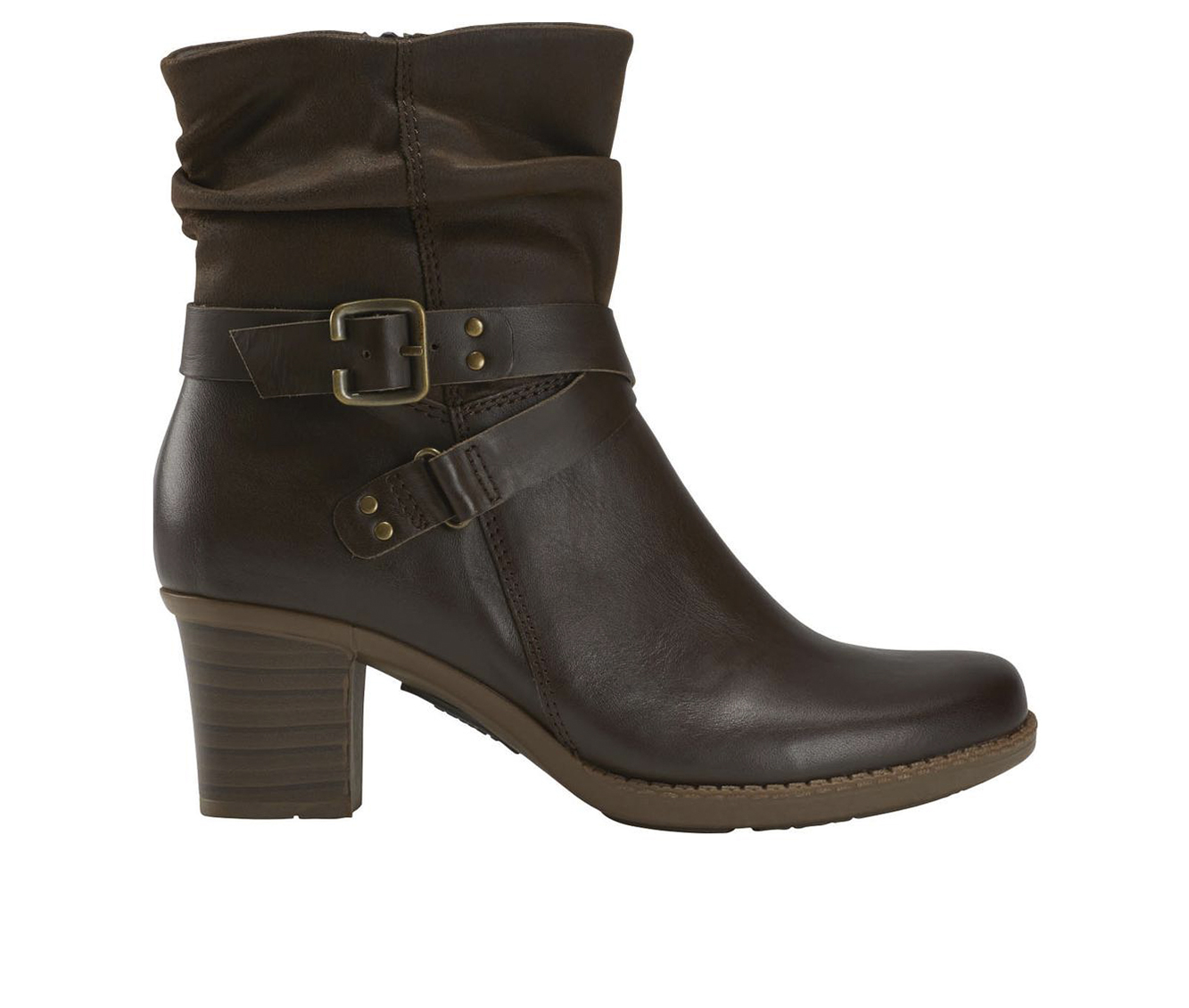 Earth Origins Wheaton Wade Women's Boot (Brown Leather)
