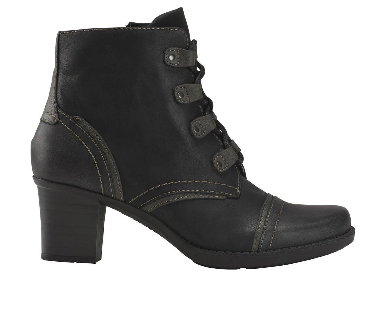 Earth Origins Wheaton Wynn Women's Boots (Black - Canvas)